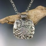 Athens Owl pendant